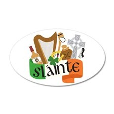 Slainte Wall Decal