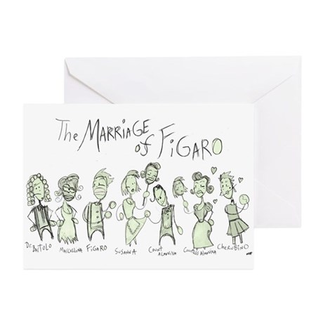 Marriage of Figaro: The Greeting Cards (Package o