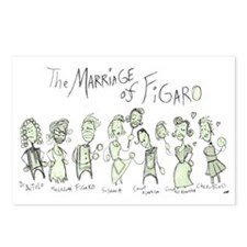 Marriage of Figaro: The  Postcards (Package of 8)