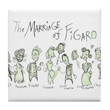 Marriage of Figaro: The  Tile Coaster