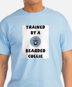 Trained by a Beardie T-Shirt