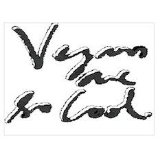 Cool Vegans Poster