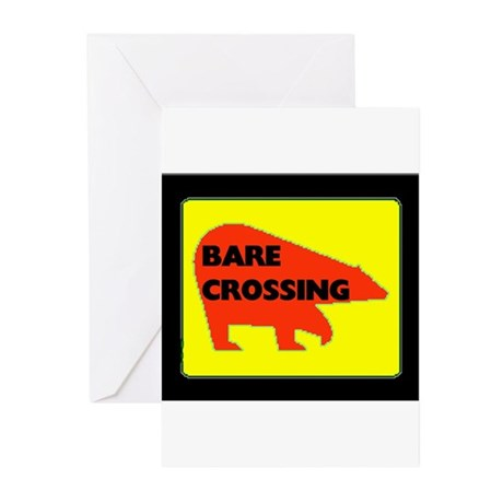BARE CROSSING Greeting Cards (Pk of 10)