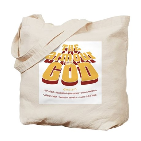 Armour of God Tote Bag