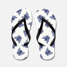 AWARENESS BUTTERFLIES Flip Flops