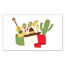 Mexican Party Decal