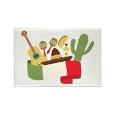 Mexican Party Magnets