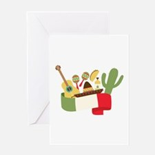 Mexican Party Greeting Cards