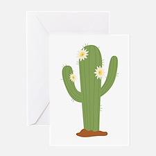 Desert Cactus Greeting Cards