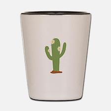 Desert Cactus Shot Glass
