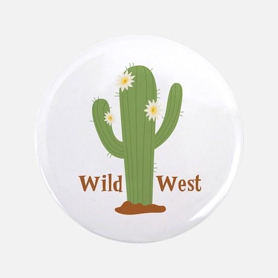Wild West Button