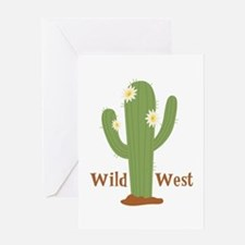 Wild West Greeting Cards