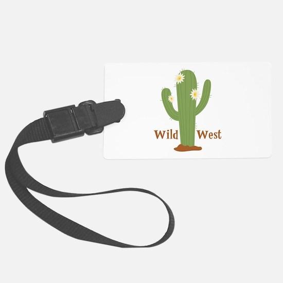Wild West Luggage Tag