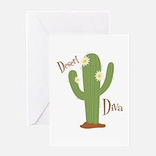 Desert Diva Greeting Cards
