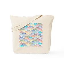 Scallops in Trending Colors Tote Bag