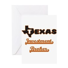 Texas Investment Broker Greeting Cards