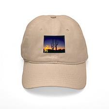 Cactus and Kokopelli Baseball Cap