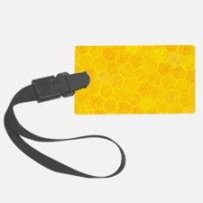 Artsy Honeycomb Luggage Tag