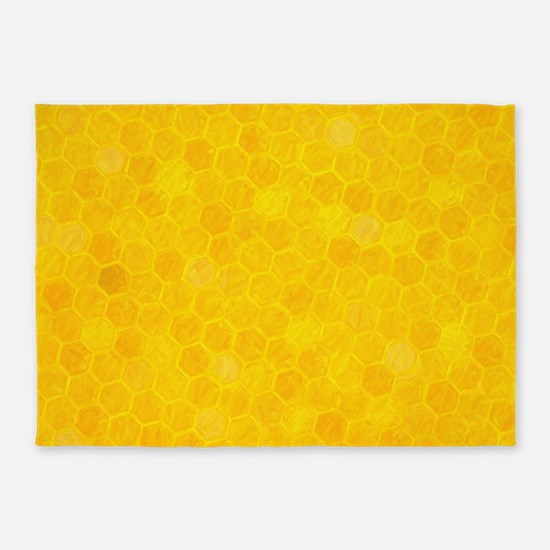 Artsy Honeycomb 5'x7'Area Rug