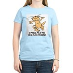 Dancing Cat Women's Light T-Shirt