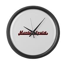 Martyrologist Classic Job Design Large Wall Clock
