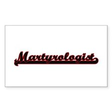 Martyrologist Classic Job Design Decal
