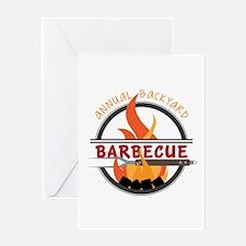 Backyard Barbecue Greeting Cards