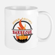Backyard Barbecue Mugs