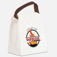 King of Barbecue Canvas Lunch Bag