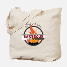 King of Barbecue Tote Bag