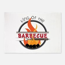 King of Barbecue 5'x7'Area Rug