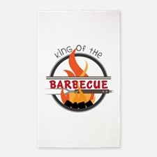 King of Barbecue Area Rug