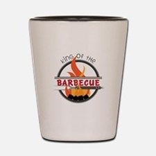 King of Barbecue Shot Glass