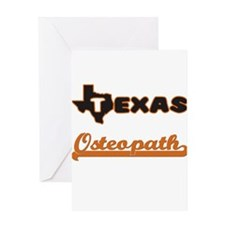 Texas Osteopath Greeting Cards