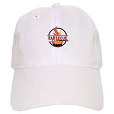 Barbecue Flame Logo Baseball Baseball Baseball Cap