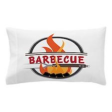 Barbecue Flame Logo Pillow Case