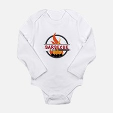 Barbecue Flame Logo Body Suit