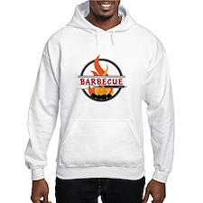 Barbecue Flame Logo Hoodie