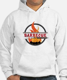 Barbecue Flame Logo Hoodie