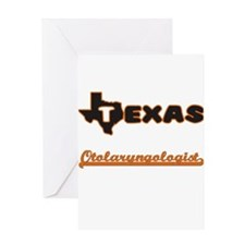Texas Otolaryngologist Greeting Cards
