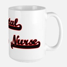 Mental Health Nurse Classic Job Design Mugs