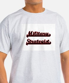 Military Strategist Classic Job Design T-Shirt