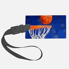 Basketball hoop and ball painting Luggage Tag
