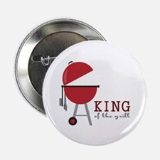 "King of the grill 2.25"" Button (10 pack)"