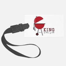 King of the grill Luggage Tag