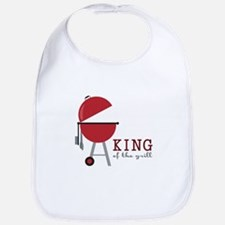 King of the grill Bib
