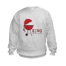 King of the grill Sweatshirt
