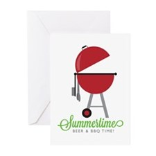 Summer Time Greeting Cards