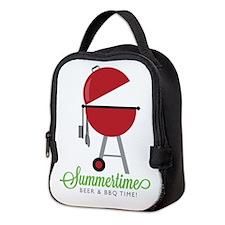 Summer Time Neoprene Lunch Bag