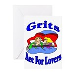 Grits Are For Lovers Greeting Cards (Pk of 10)